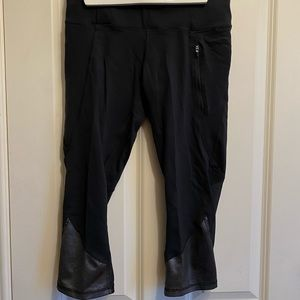 Champion and Nike Cropped (Knee Length) Leggings